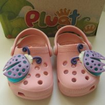 Babuche Plugt Baby Light Rosa Glace - Tam 17/18 - 17 - plugt