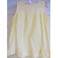 Vestido Verão Amarelo - Tam 9 a 12 Meses - 9 a 12 meses - Bambini