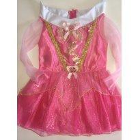 Fantasia Princesa Rosa Bebê - Tam: M - 2 anos - 2 anos - Fantasias  Sulamericana