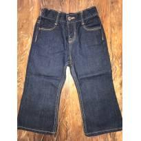 Calça Jeans Escura - OshKosh B`Gosh - 24 Meses - 2 anos - OshKosh