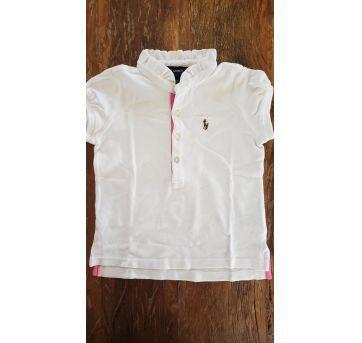 Camiseta Gola Babadinho - Ralph Lauren - 3 anos - Ralph Lauren