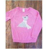 Blusa em Tricot Rosa - OshKosh B`Gosh - 4 anos - OshKosh