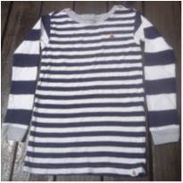 Camiseta Baby Gap listrada - 4 anos - Baby Gap