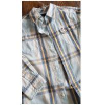 Camisa Xadrez Manga Longa - Tommy Hilfiger - 7 anos - Tommy Hilfiger