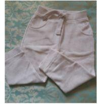 CALÇA MOLETON YOUNG DIMENSION CREME - 18 a 24 meses - Young dimension