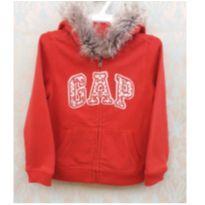 CASACO/BLUSA MOLETON COM CAPUZ GAP - 4 anos - GAP