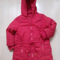 Jaqueta vesti leggin Malwee vermelha bem quentinha! - 3 anos - Malwee