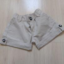Shorts de Sarja bege - 6 anos - Chicote