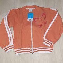 Blusa de Moleton com ziper Laranja - 8 anos - Perone`s Baby