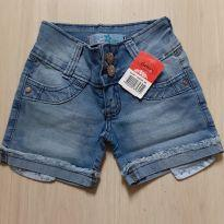 Shorts Jeans com Novo - 8 anos - nenhuma
