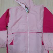 Jaqueta Rosa com detalhes pink - 8 anos - nenhuma