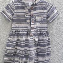 Vestido listrado - 2 anos - Carters - Sem etiqueta