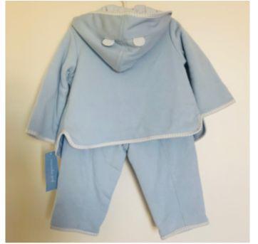 Novo com etiqueta! Conjunto (agasalho, calça e camiseta) 3 peças Menino 18 meses - 18 meses - First Impressions