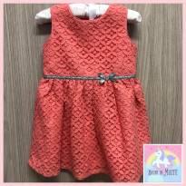 Vestido de festa Coral Carters - 18 meses - CARTERS/TIPTOP/ZARA
