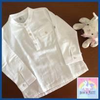 Bata Branca (menino) - 9 a 12 meses - Paola Da Vinci e Paola BimBi