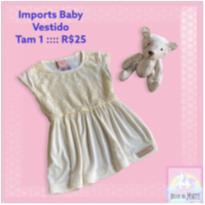 Vestidinho Verão - 1 ano - Imports Baby