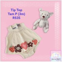 Body Tip Top - 3 meses - Tip Top