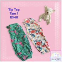 Kit com 2 calças Tip Top