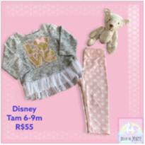 Conjunto DISNEY - 6 a 9 meses - Disney
