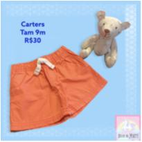 Shorts Verão Carters - 9 meses - CARTERS/TIPTOP/ZARA