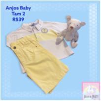 Conjunto Anjos Baby - 2 anos - Anjos baby