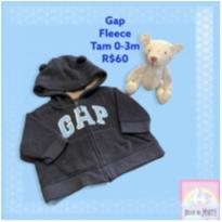 Moletom Gap Fleece - 0 a 3 meses - GAP