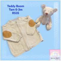 Casaquinho Teddy Boom - 0 a 3 meses - Teddy Boom