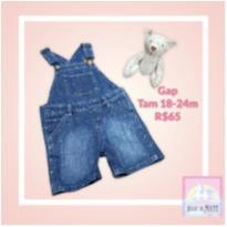 Jardineira GAP - Tam 18-24m SEM USO! - 18 a 24 meses - Gap Kids