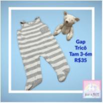 Macacão Tricô GAP - 3 a 6 meses - Gap Kids