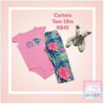 Conjunto Tropical Carters - 18 meses - Carter`s