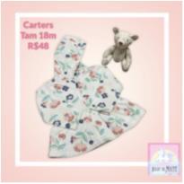 Blusa Fleece Carters Floral - 18 meses - Carter`s