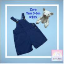 Jardineira Zara - 3 a 6 meses - Zara