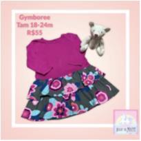 Vestido Gymboree Florido - 18 a 24 meses - Gymboree