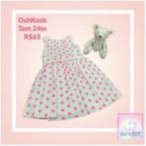 Vestido OshKosh Tam 24 meses - 2 anos - OshKosh