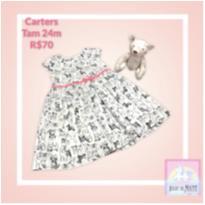 Carters - Tam 24 meses - 2 anos - Carter`s