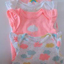 Kit Bodies Carters - 3 meses - 3 meses - Carter`s