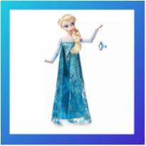Boneca Elsa Frozen Disney Store Original -  - Disney Store