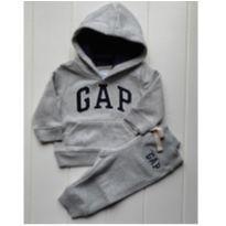 Conjunto Moletom GAP 06-12 meses Original - 6 a 9 meses - Baby Gap e GAP
