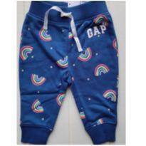 Calça de Moletom GAP Original Menina Arco-íris - 12 a 18 meses - Baby Gap e GAP