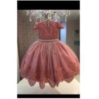 Vestido Festa Luxo -  - Produzido em Atelier