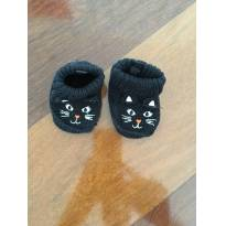 Sapatinho/Meia Carters de gatinho - 0 a 3 meses - Carter`s