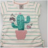 Tshirt Cactus - Póim - 2 anos - Póim
