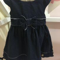 Vestido Impecável Azul MOMI - 3 anos - Momi