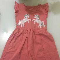 Vestidinho Unicórnio - 3 anos - marisa