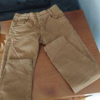 Calça jeans marrom - 8 anos - Não informada