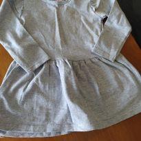 Vestido de manga longa - 12 a 18 meses - Riachuelo