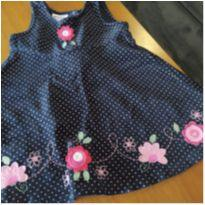 Vestido EUA - 12 a 18 meses - baby gear (EUA)