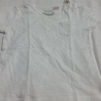 Blusa basica branca - 18 meses - Zara