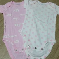 Kit Body Rosa - 0 a 3 meses - Child of Mine - Carter