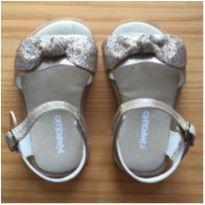 sandália com laço & glitter - 18 - Pimpolho